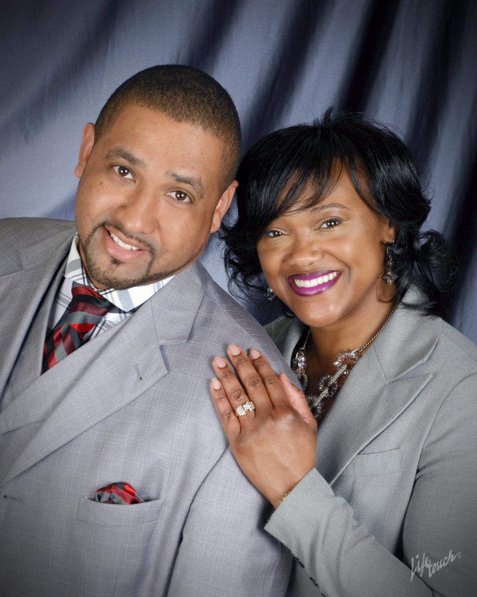 Minister Nicholas and Nikki Glenn of Sharpe Road Church of Christ